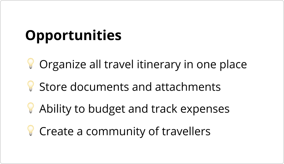 Travel-Opportunities